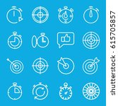 accurate icons set. set of 16...   Shutterstock .eps vector #615705857