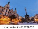 City Hall And Plague Column On...