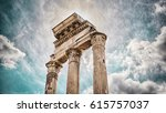 old city rome | Shutterstock . vector #615757037