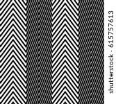 zigzag lines. jagged stripes.... | Shutterstock .eps vector #615757613