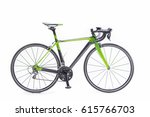 Aero Carbon Road Bike In Green...
