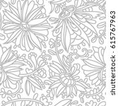 Abstract Flowers Pattern....
