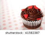 Chocolate Cupcake With Mini...