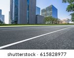 clean urban road with modern... | Shutterstock . vector #615828977