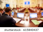 conference room or seminar... | Shutterstock . vector #615840437