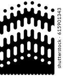 seamless vector black and white ... | Shutterstock .eps vector #615901343