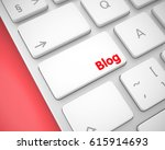 business concept  blog on the...   Shutterstock . vector #615914693