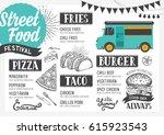 Street Food Festival Menu....