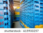inside the warehouse  stack a... | Shutterstock . vector #615933257