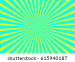sunny background. rising sun... | Shutterstock .eps vector #615940187
