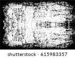grunge black and white urban... | Shutterstock .eps vector #615983357