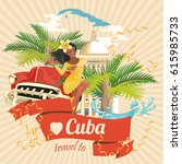 Welcome To Cuba  Travel Poster...