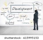 business development concept | Shutterstock . vector #615995153