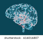 brain degenerative diseases ... | Shutterstock . vector #616016807