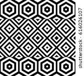vector seamless pattern. modern ... | Shutterstock .eps vector #616026107