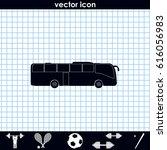 coach bus icon. | Shutterstock .eps vector #616056983