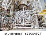 radial type of gas turbine... | Shutterstock . vector #616064927