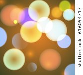 abstract colorful circular... | Shutterstock .eps vector #616094717