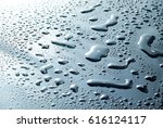 water droplet on glass | Shutterstock . vector #616124117