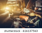 maintenance car repair... | Shutterstock . vector #616137563