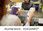shopping  payment  consumerism... | Shutterstock . vector #616164857