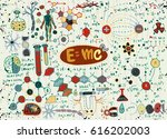 vector illustration of... | Shutterstock .eps vector #616202003