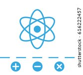 atom icon | Shutterstock .eps vector #616222457