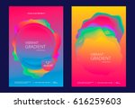 creative design poster with... | Shutterstock .eps vector #616259603