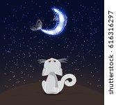 cartoon illustration of white...   Shutterstock .eps vector #616316297