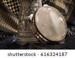 arabic musical instruments. a... | Shutterstock . vector #616324187