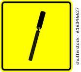 rasp hand tool sign | Shutterstock .eps vector #616346627