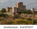 Ruins Of The Medieval Crusader...