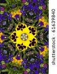 Kaleidoscopic Altered Image Of...
