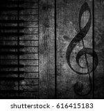 wood musical background | Shutterstock . vector #616415183
