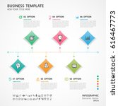 abstract elements of square... | Shutterstock .eps vector #616467773