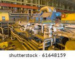 factory with equipment to... | Shutterstock . vector #61648159