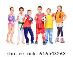 sports and activities for... | Shutterstock . vector #616548263