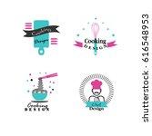 chef icon.chef logo.vector... | Shutterstock .eps vector #616548953