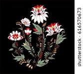 stock vector abstract hand draw ... | Shutterstock .eps vector #616570673