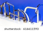 kitchen faucet  interior. | Shutterstock . vector #616611593