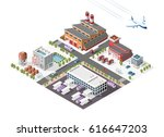set of isolated high quality... | Shutterstock .eps vector #616647203