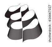 abstract line vector | Shutterstock .eps vector #616667327