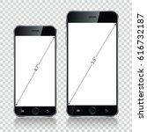 smartphone  mobile phone...   Shutterstock . vector #616732187