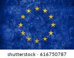 flag of europe | Shutterstock . vector #616750787