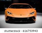 geneva  switzerland   march 7 ... | Shutterstock . vector #616753943