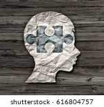 childhood education or mental... | Shutterstock . vector #616804757