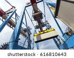 A Massive Freight Crane...