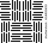 vector seamless pattern. modern ... | Shutterstock .eps vector #616833653