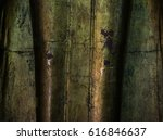 the texture of buddha statue... | Shutterstock . vector #616846637