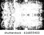 grunge black and white urban... | Shutterstock .eps vector #616855403